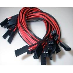 Set 5 Pz. Cavo 2 Pin per stampante 3d Prusa Mendel Reprap Arduino