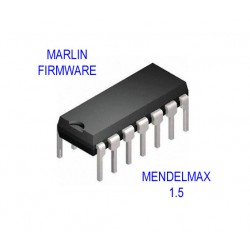 Firmware Marlin con LCD 12864 Calibrato per Mendelmax 1.5 Stampante 3D Reprap