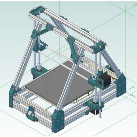 Guida passo passo Costruzione di una Stampante 3D Reprap Mendelmax 1.5 Tutorial