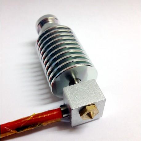 Estrusore Alluminio J-head HotEnd Abs Pla 1,75 mm Nozzle 0,4 Reprap