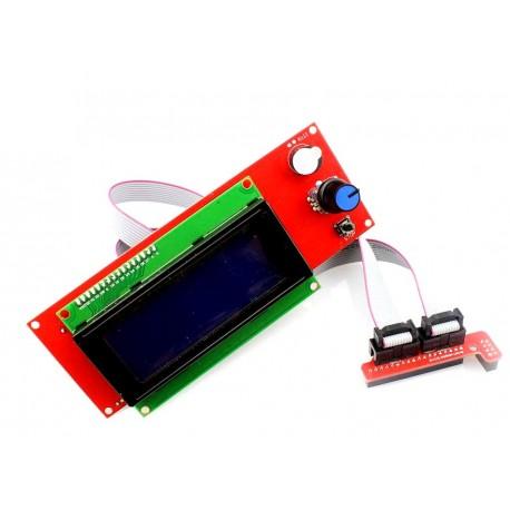 Display 20x4 Smart Controller Stampante 3D Reprap Prusa Mendel