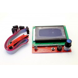 Display LCD SCHERMO 128x64 Smart Controller Stampante 3D Prusa Mendel