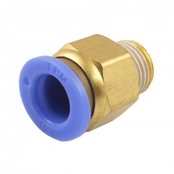 Raccordo per Tubo Teflon M10 Estrusore Bowden Stampante 3D Reprap DIY