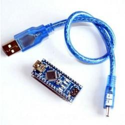 Scheda Arduino Nano V3 COMPATIBILE con Cavo Usb