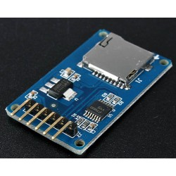 Modulo Lettore Micro SD Scheda Card Reader TF Shield SPI per Arduino