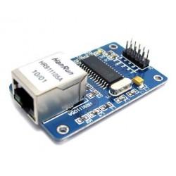 Modulo Ethernet Lan per Arduino ENC28J60 Shield 51/AVR/ARM/PIC Code