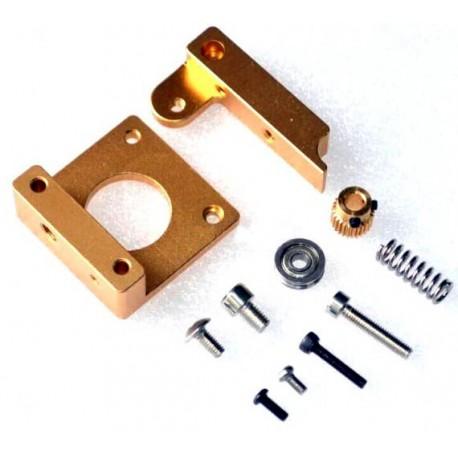 Kit Completo Estrusore Alluminio MK8 - Reprap Prusa mendel