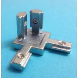 Angolare a scomparsa per estrusi alluminio 20x20 mm - Stampanti 3d