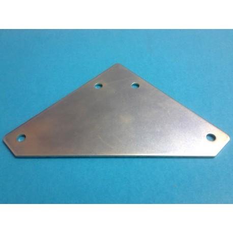 Angolare a triangolo per estrusi alluminio 20x20 mm - Stampanti 3d