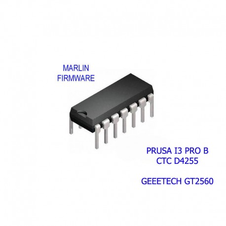 Firmware Marlin Calibrato per GEEETECH GT2560 - Prusa I3 Pro B Stampante 3D Reprap