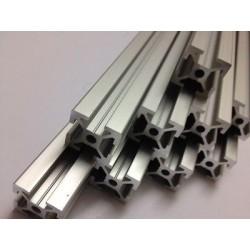 Barre profilati FILETTATE Mendelmax 30 Alluminio Estruso 20x20 mm per Stampante 3d Reprap