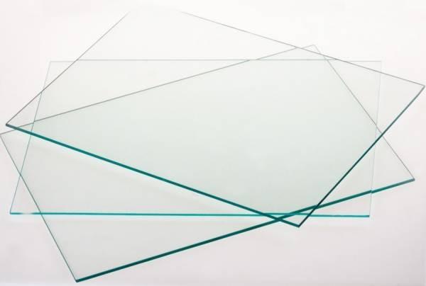 piano in vetro