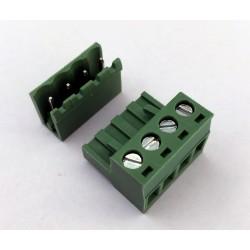 Morsettiera Connettore 4 PIN Angolo Retto Aperto PCB Ramps