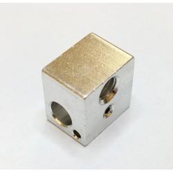 Blocco Alluminio Riscaldante per Estrusore Hot End Stampante 3D Prusa Mendel Heater Block