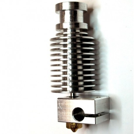 Estrusore Alluminio E3D V6 J-head HotEnd 1,75mm Nozzle 0,4 - All Metal Hot End