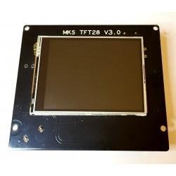 Display Lcd a Colori Touch Screen Modulo MKS TFT28 - V3 per MKS Gen