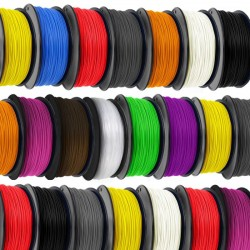 Filamenti PLA 3 mm per Stampante 3D - 1 Kg.