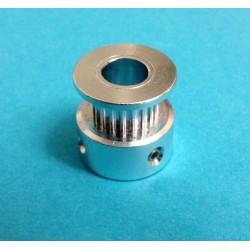 Puleggia GT2 20 Denti Passo 2mm Foro 8mm per stampante 3D Prusa Mendel Reprap Belt Pulley