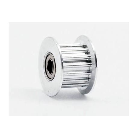 Puleggia Cinghia Dentata GT2 Foro 5 mm 16 Denti in Lega di Alluminio con Chiave Esagognale per 6 mm Ampia Cinghia Stampante 3D Macchina CNC 11 Pezzi
