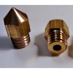 Ugello 0,4mm per Estrusore Hot End Stampante 3D Prusa Mendel Brass Nozzle