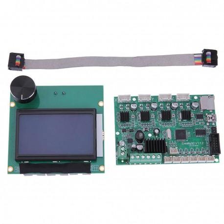 RICAMBIO Creality CR-10 control board Scheda di Controllo con Display Stampante 3D