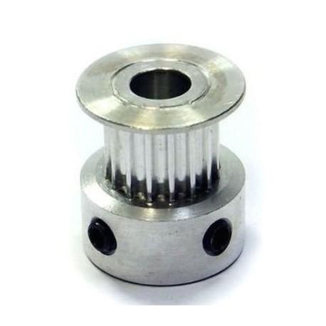 Puleggia GT2 16 Denti Passo 2mm per stampante 3D Prusa Mendel Reprap Belt Pulley