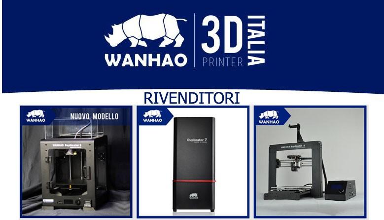 Rivenditori 3d Printer Wanhao